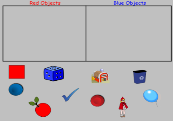 Sorting objects | Recurso educativo 45170
