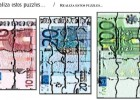 Ficha: puzzle de billetes | Recurso educativo 47882