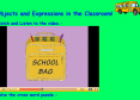 Objects and Expressions in the Classroom | Recurso educativo 10086