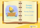 Song: Humpty Dumpty | Recurso educativo 12890