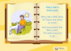Song: Mary had a little lamb | Recurso educativo 12899