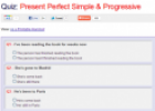 Quiz: Present perfect simple and progressive | Recurso educativo 62232
