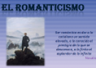 El Romanticismo | Recurso educativo 64197