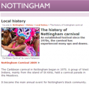 The history of Nottingham carnival | Recurso educativo 69846