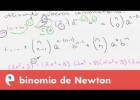 Combinatoria: binomio de Newton | Recurso educativo 107818