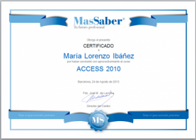 Curso de Access 2010 | MasSaber | Recurso educativo 114112