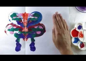 Symmetric Painting of a Butterfly | Recurso educativo 771594