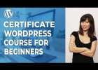 Curso WordPress con certificado | Recurso educativo 776224